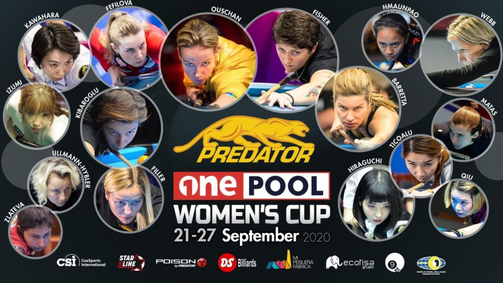 one pool women's cup